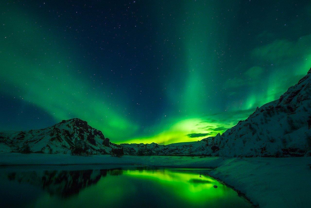 Światła Północy - zorza polarna