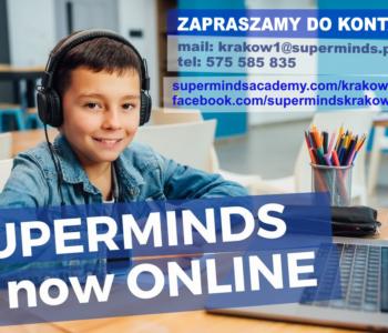 Superminds – bezpłatne lekcje pokazowe dla dzieci w maju!