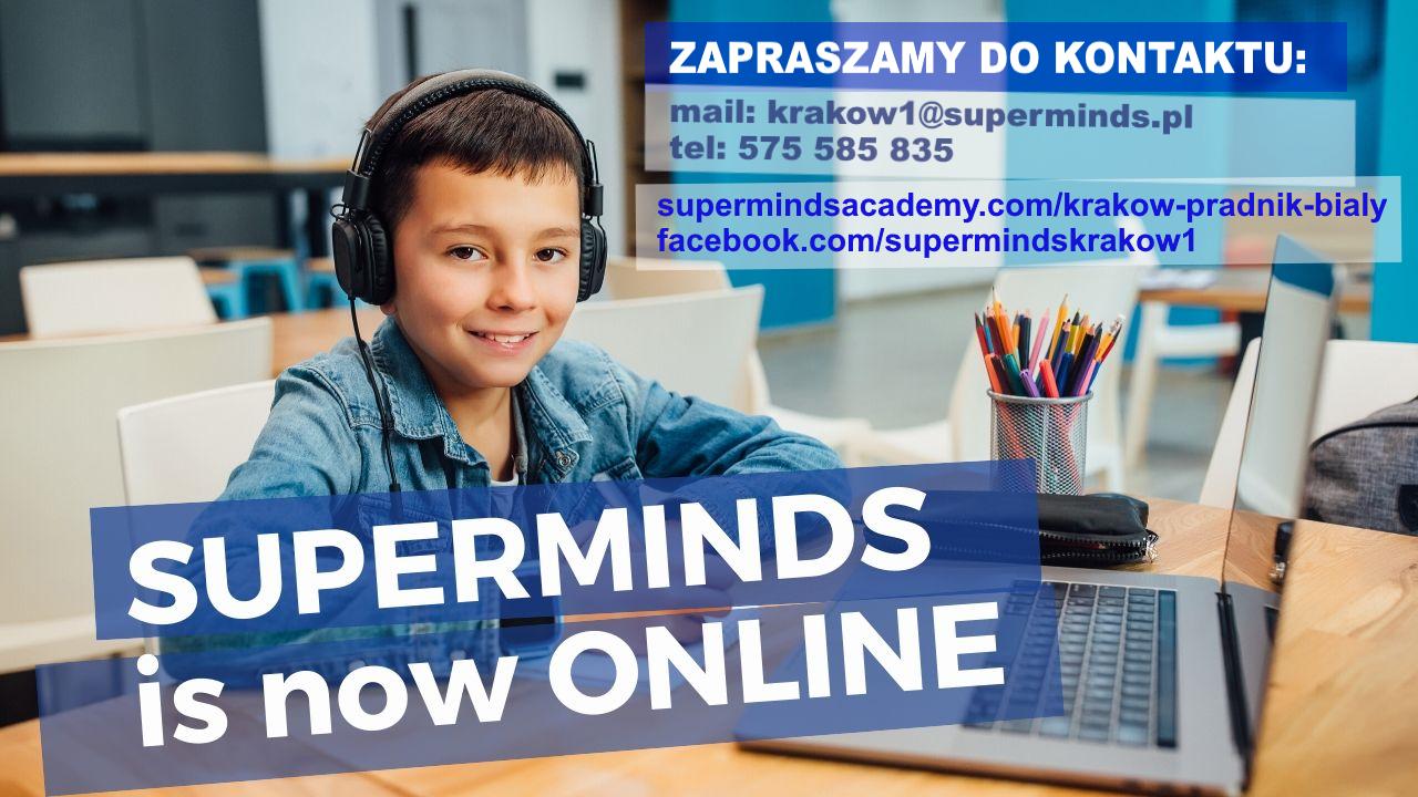 Superminds - bezpłatne lekcje pokazowe dla dzieci w maju!
