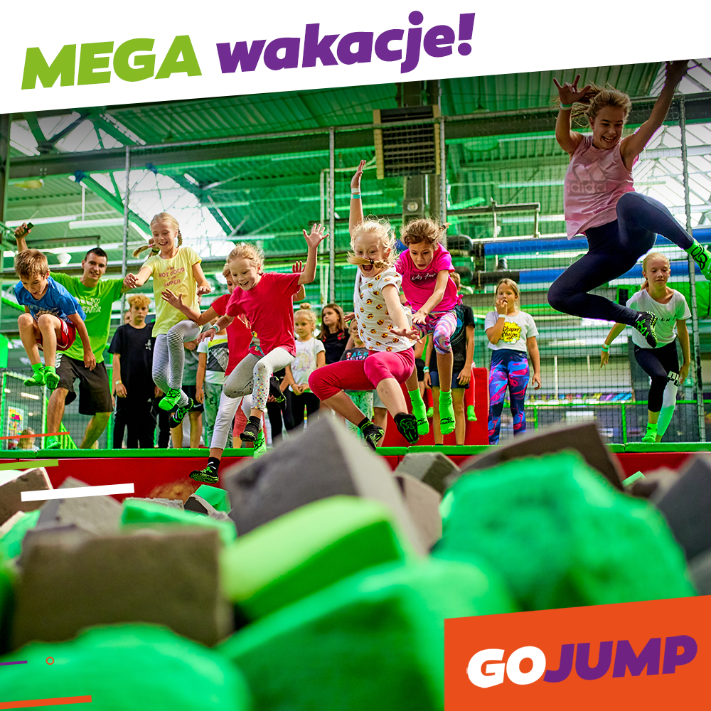 MEGA wakacje w GOjump!