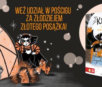 Kicia i posążek Złotego Tygrysa - premiera książki