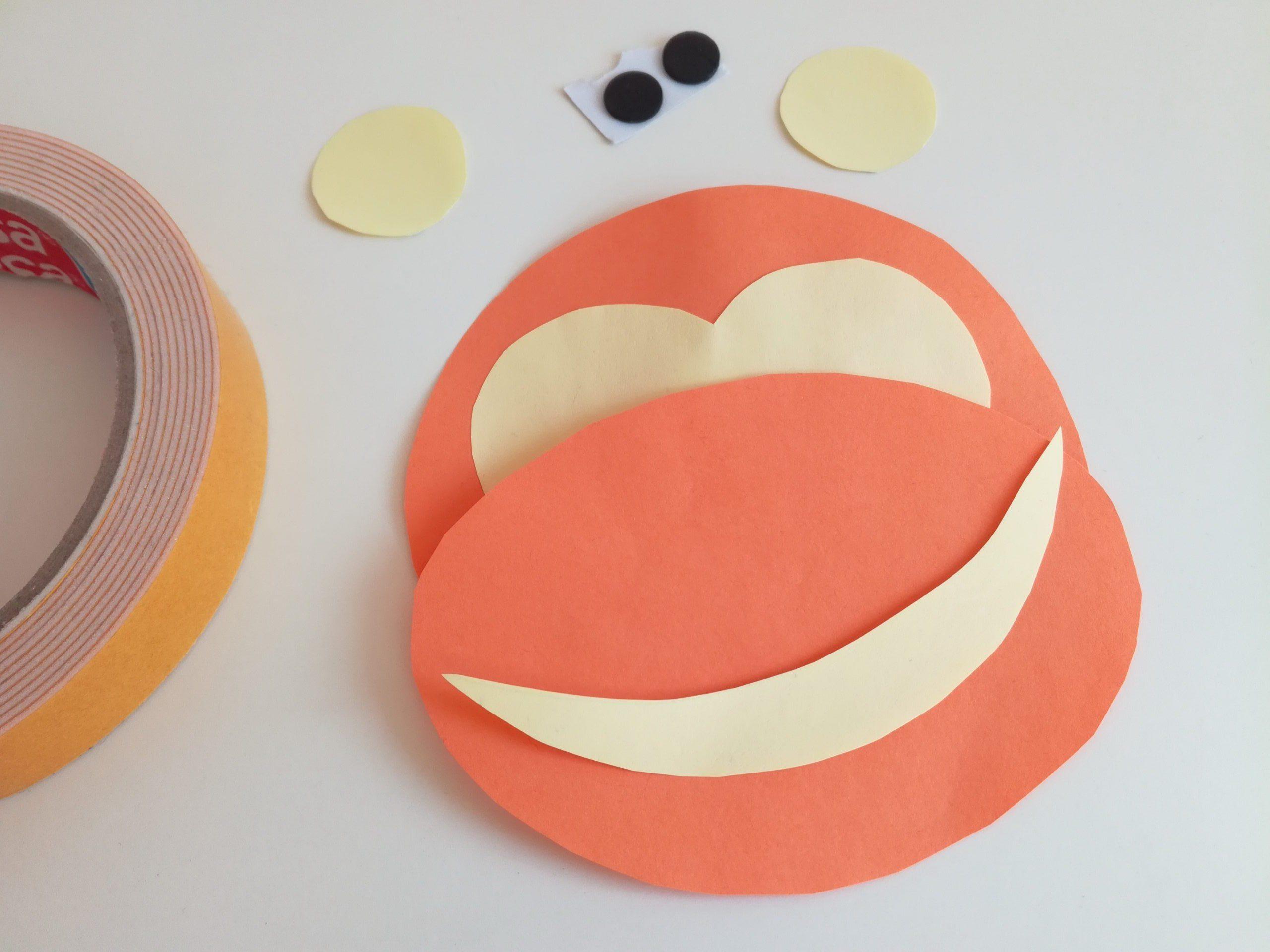 Jak zrobić małpkę z papieru łatwa zabawa plastyczna