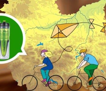 Dla rodziców z przyczepkami rowerowymi – trasy w Małopolsce