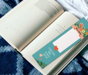 Zakładki do książek dla mamy – szablony do wydruku