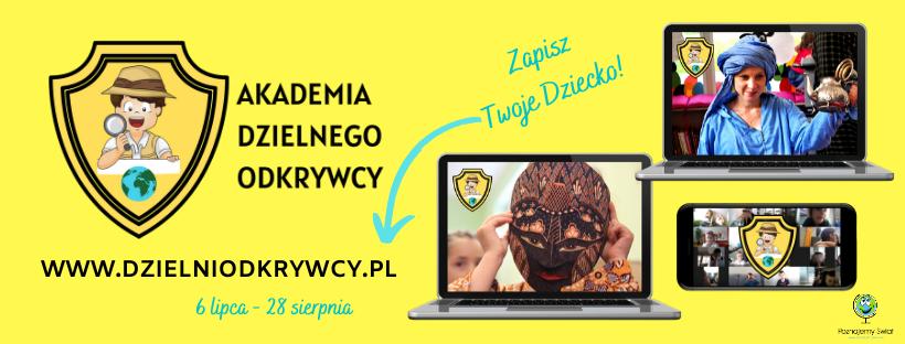 Wakacje online dla żądnych przygód Dzieci, które chcą odkrywać świat