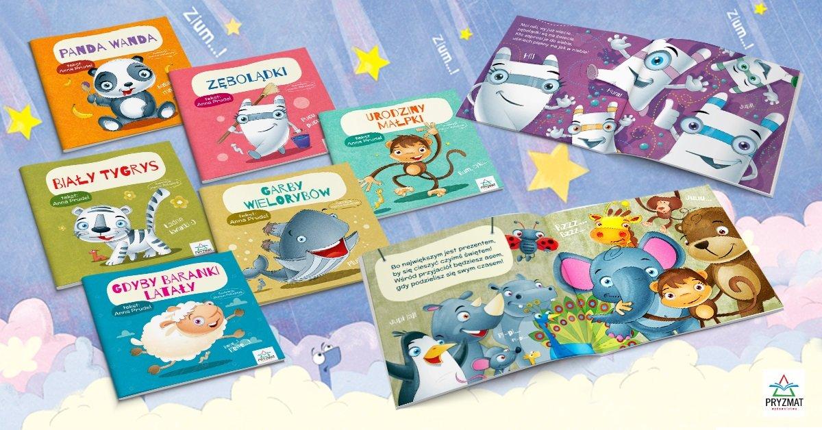 Bajeczki - seria książeczek dla dzieci