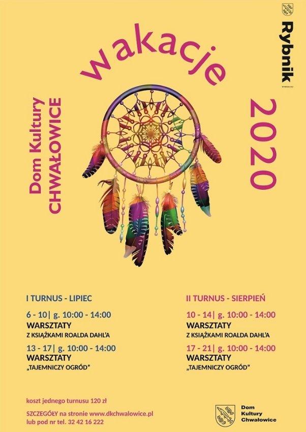 Wakacje 2020 z Domem Kultury Chwałowice