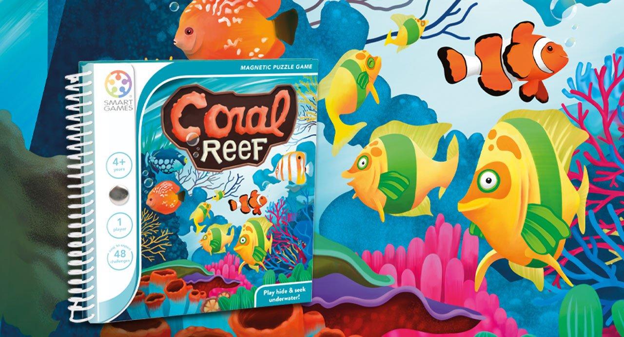 Coral Reef- gra magnetyczna na podróż