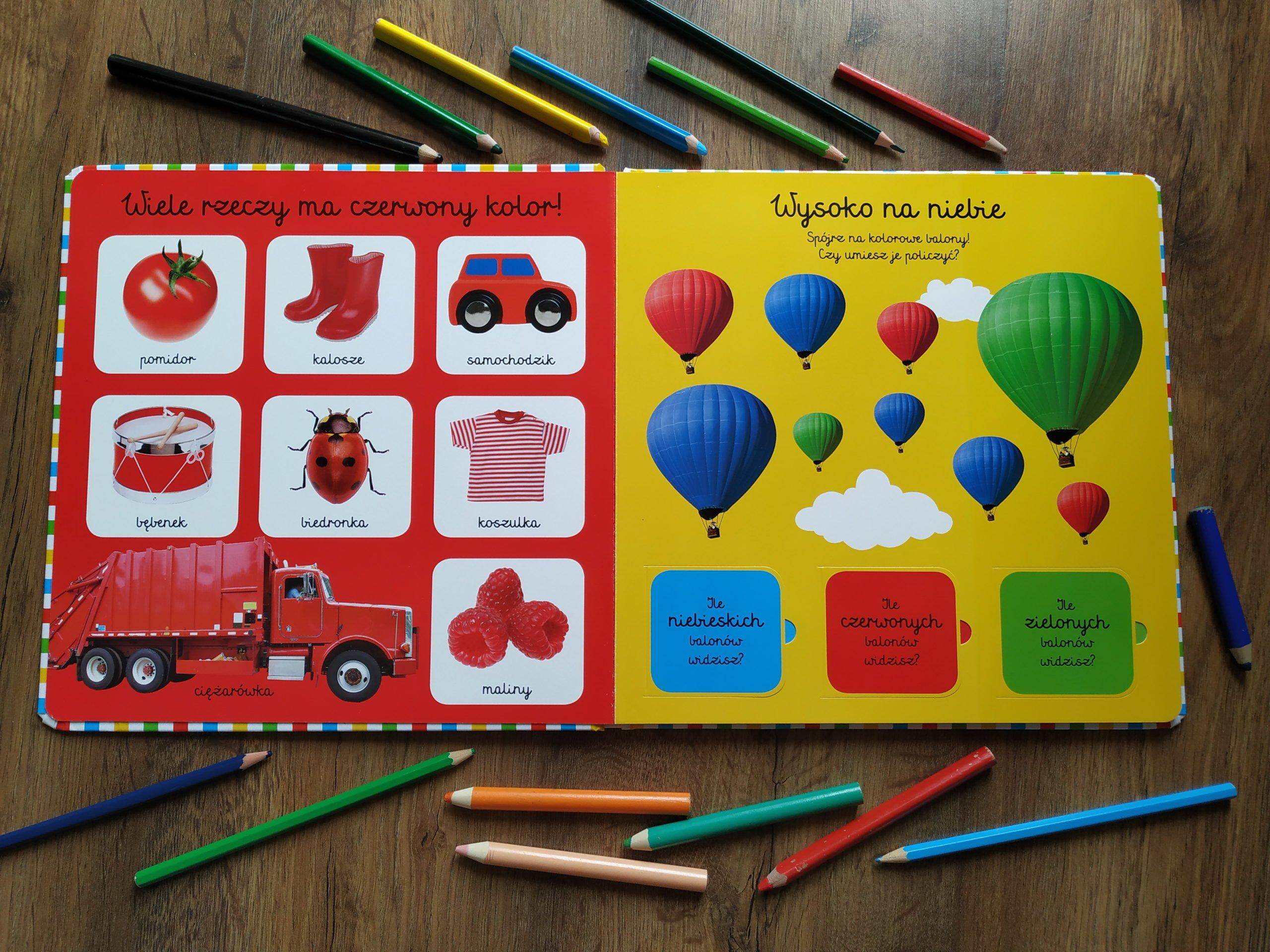 Opinie o książce Moja pierwsza książka o kolorach Egmont