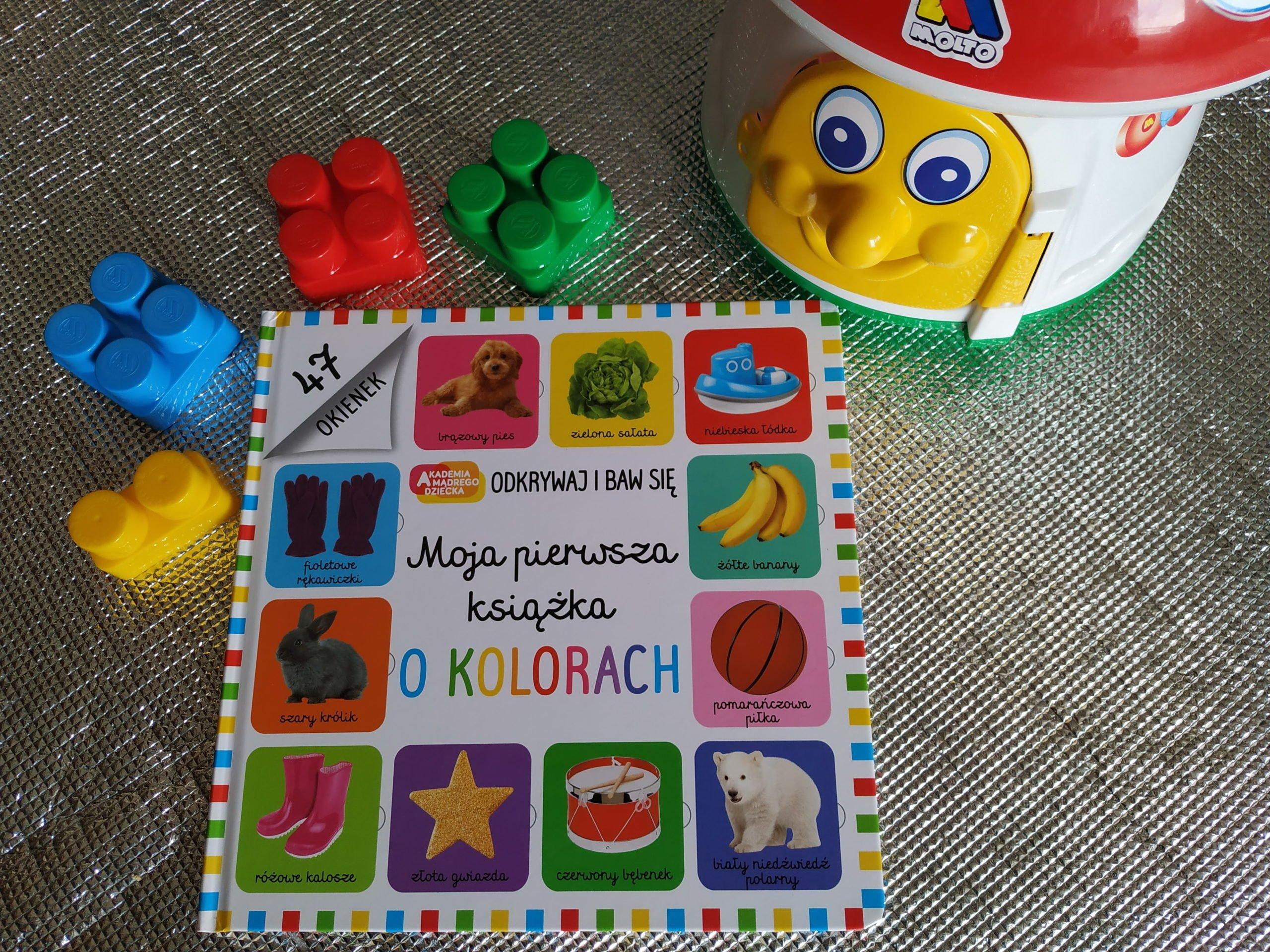 Recenzja Mojej pierwszej książki o kolorach dla dzieci