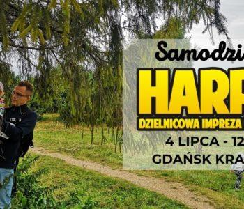 Samodzielny Harpuś – Dzielnicowa impreza na orientację: Gdańsk Krakowiec