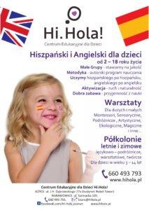 Centrum Edukacyjne dla Dzieci Hi.Hola!
