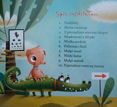 Doktor Dolittle i jego zwierzaki czyta Edyta Jungowska. Recenzja audiobooka dla dzieci