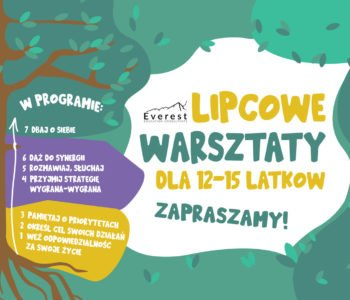 Lipcowe warsztaty dla nastolatków - Saska Kępa
