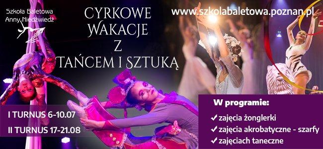 Cyrkowe Wakacje z Tańcem i Sztuką