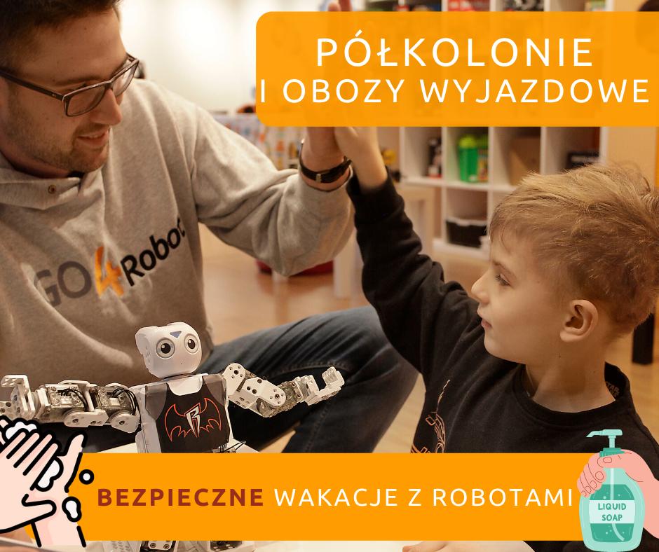 Półkolonie i obóz wakacyjny z robotyką. Kod rabatowy dla czytelników Miasta Dzieci!