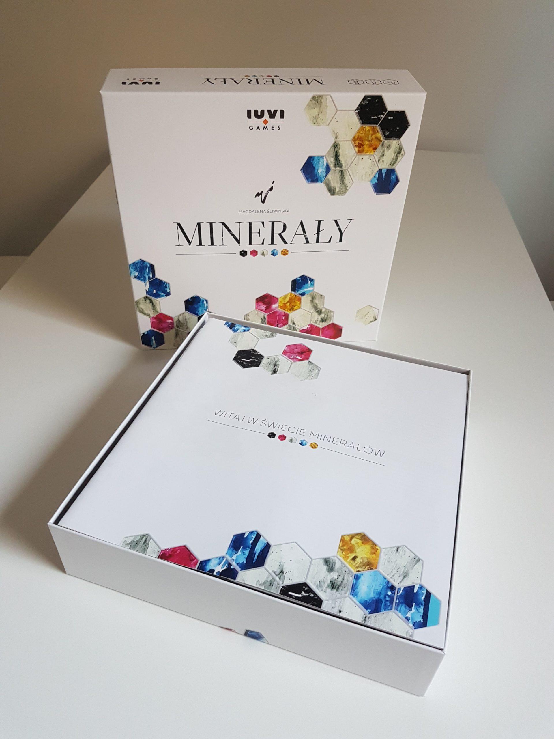 Minerały – recenzja gry
