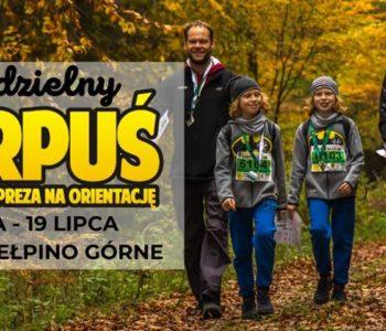 Samodzielny Harpuś – Dzielnicowa impreza na orientację: Gdańsk Kiełpino Górne