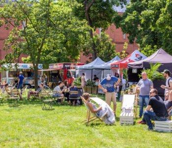 Foodpark Open-Air - nowy targ jedzeniowy w Starym Browarze