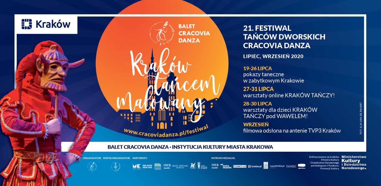 21. Festiwal Tańców Dworskich Cracovia Danza – reklama