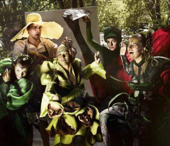 Zielony teatr dla rodzin z dziećmi