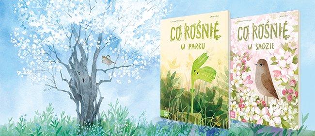Co rośnie w arku co rośnie w sadzie książki dla dzieci