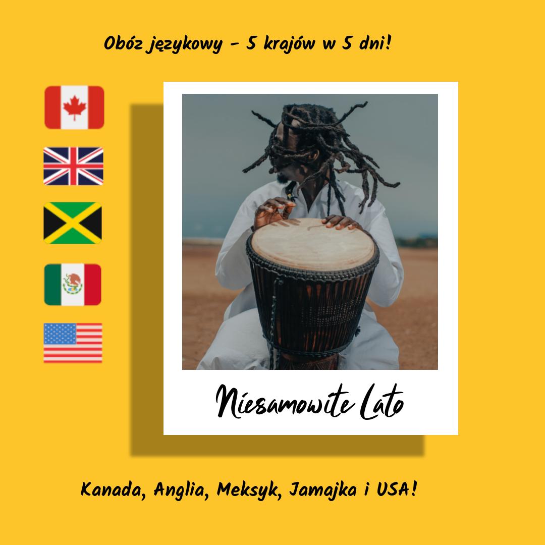 Wakacje dla dzieci z native speakerami, online! Niesamowite Lato!