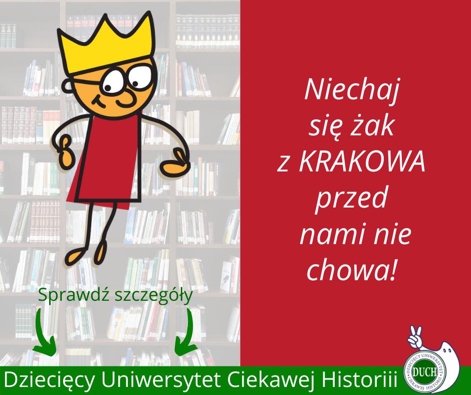 Dziecięcy Uniwersytet Ciekawej Historii zaprasza na zajęcia