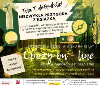 Obozy on-line Fundacja Arete