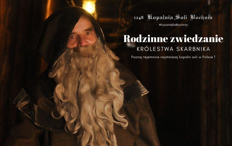 Rodzinne Zwiedzanie Królestwa Skarbnia - poznaj tajemnice najstarszej kopalni soli w Polsce