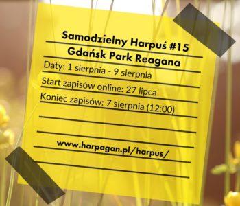 Samodzielny Harpuś - Dzielnicowa impreza na orientację: Gdańsk Park Reagana