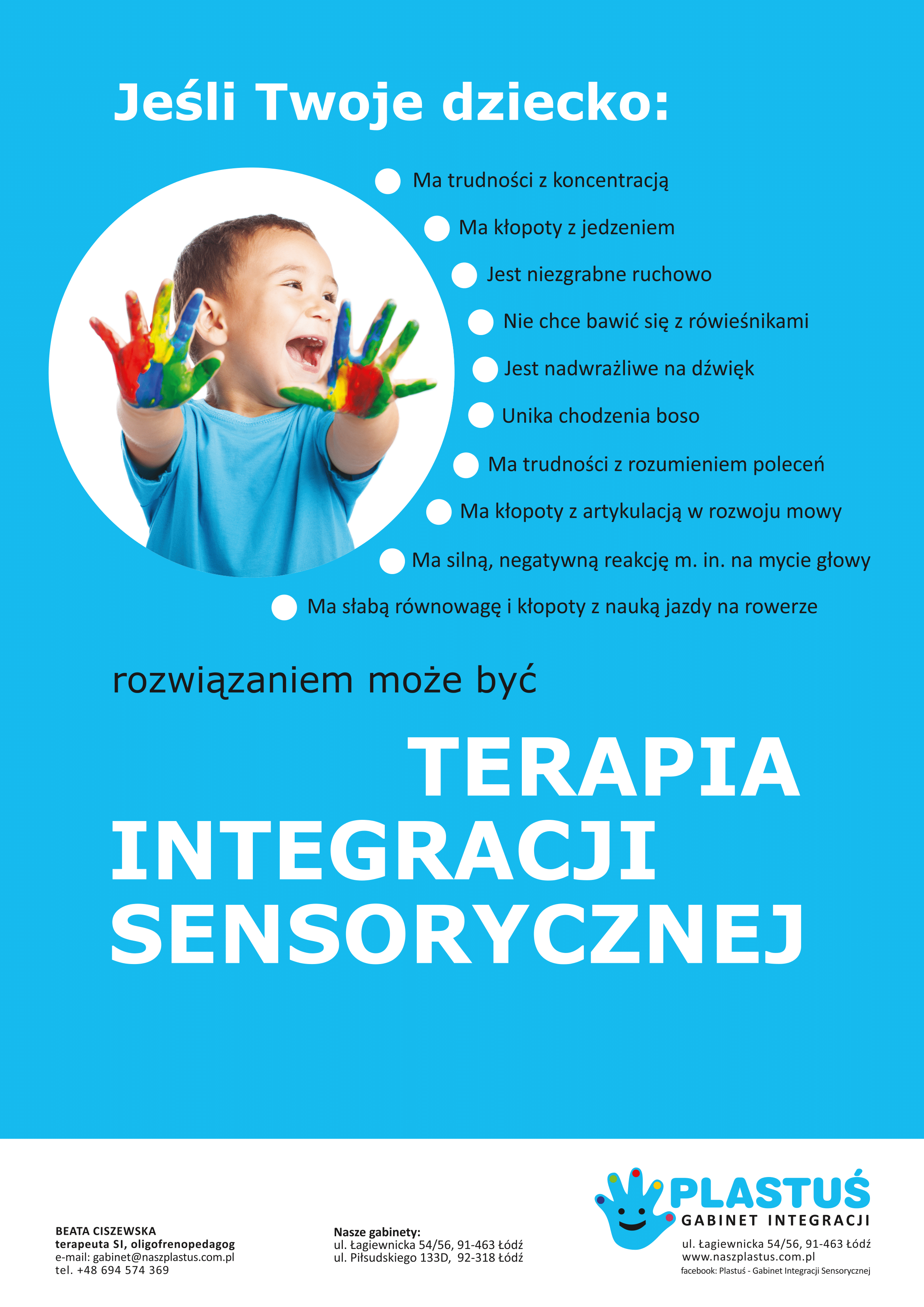 Zaburzenia sensoryki u dzieci co powinno niepokoić
