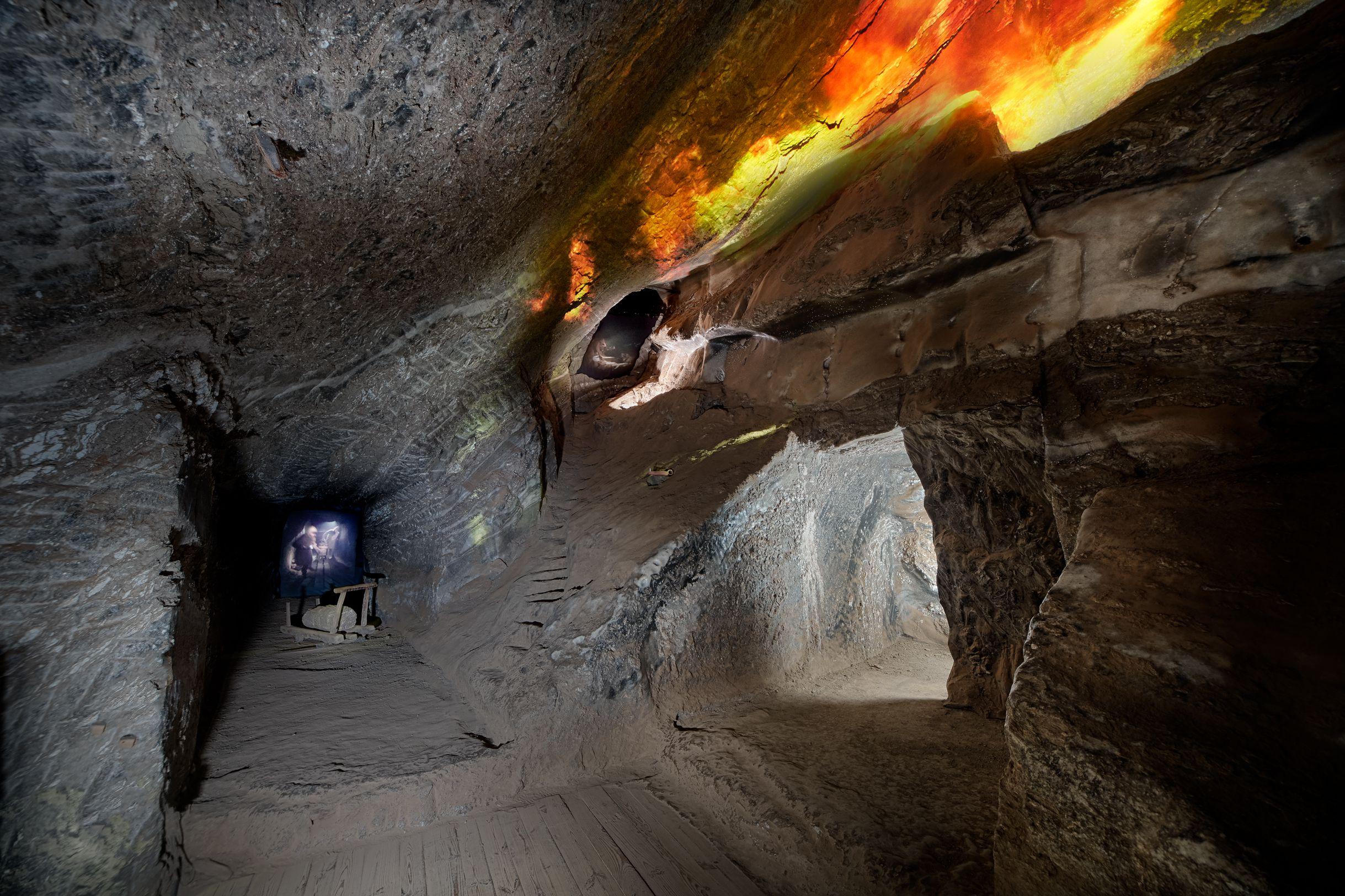 2. Podziemna Ekspozycja Multimedialna, Wypalacze metanu – fot. Ryszard Tatomir