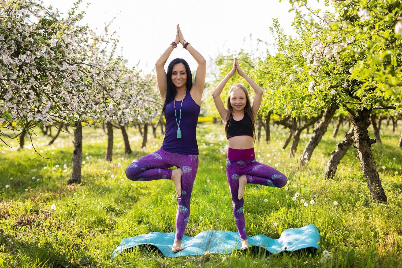 Dziecięcy Joga Festiwal w Wierchomli, czyli dzieci ćwiczą jogę