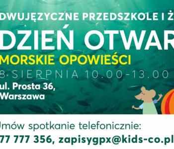 KIDS&Co. przedszkole i żłobek – DZIEŃ OTWARTY – Warszawa The Park