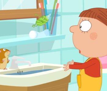 Agatka i mydło. Obejrzyj bajkę