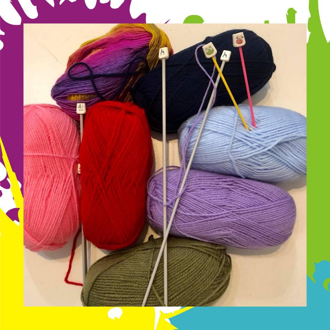 Uczymy się robić na drutach! – warsztaty dla dzieci