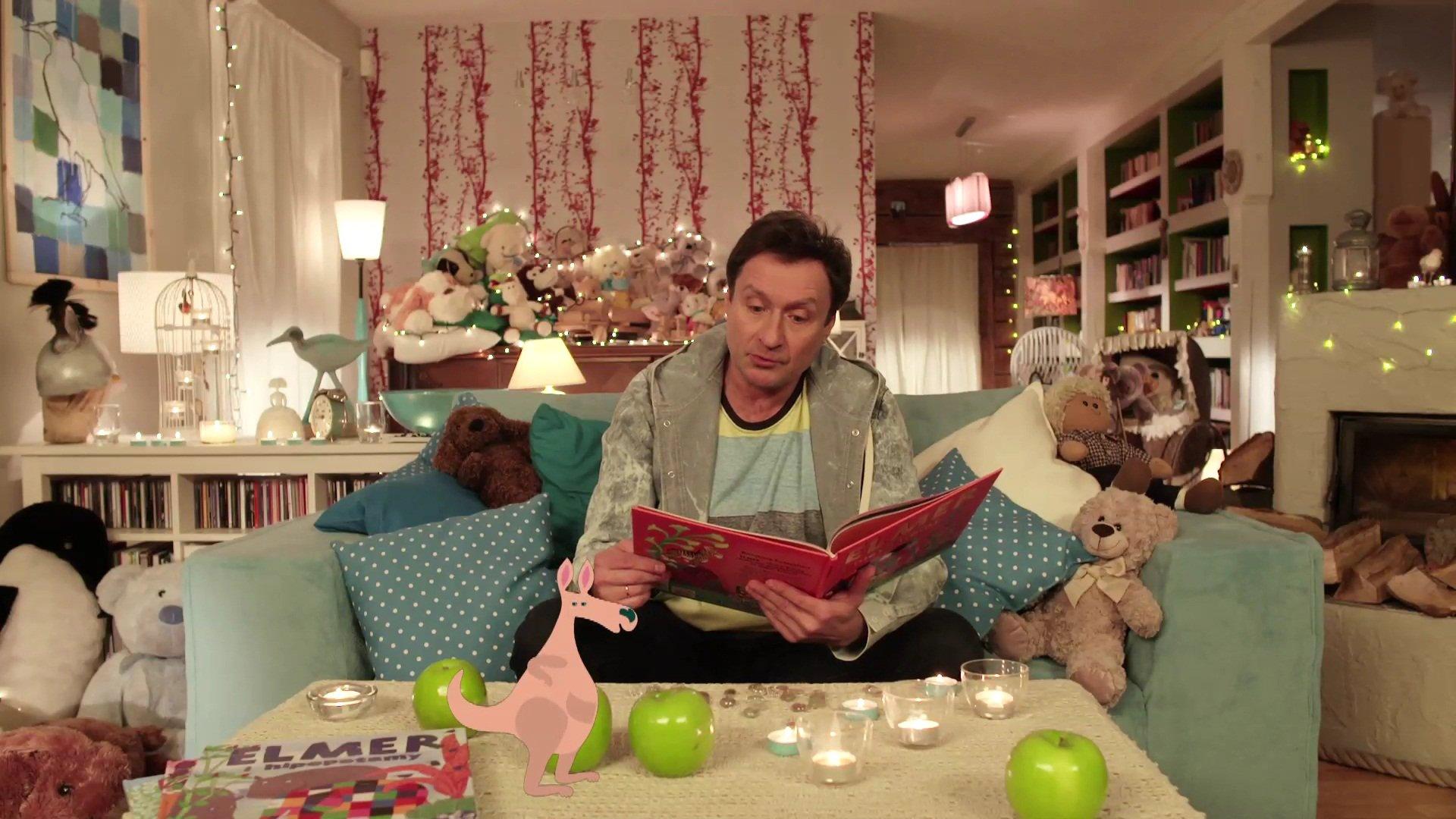 Elmer i nieznajomy posłuchaj bajki online za darmo audiobooki dla dzieci