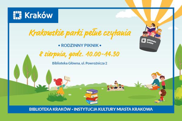 Biblioteka Kraków zaprasza 8 sierpnia na rodzinny piknik