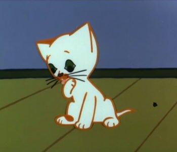 Dziwny świat kota Filemona.  Sposób na twardy sen. Obejrzyj bajkę