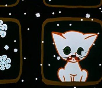 Dziwny świat kota Filemona. Zimowy wieczór. Obejrzyj bajkę