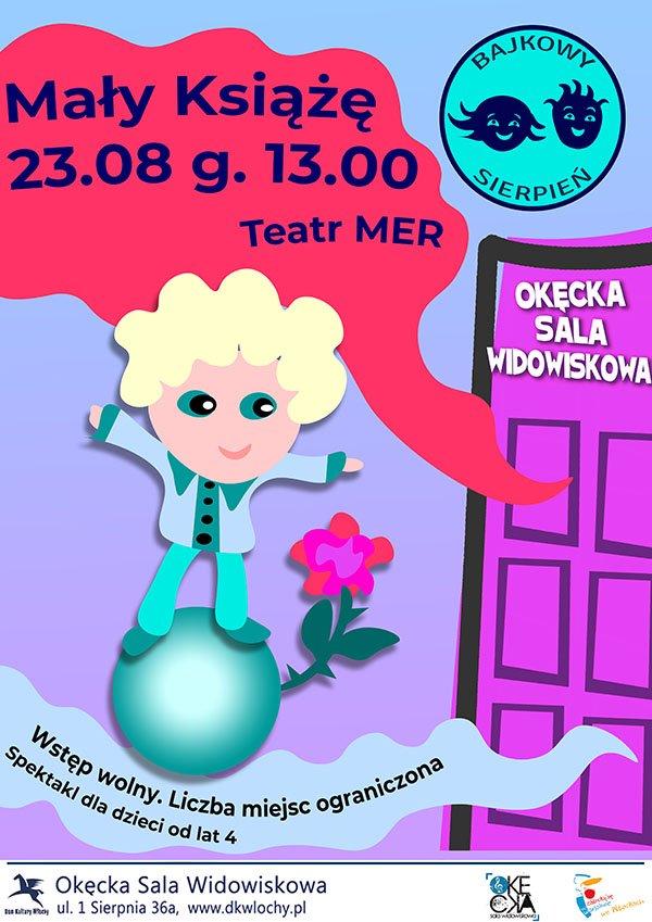 Spektakl dla dzieci Mały Książę Teatru MER