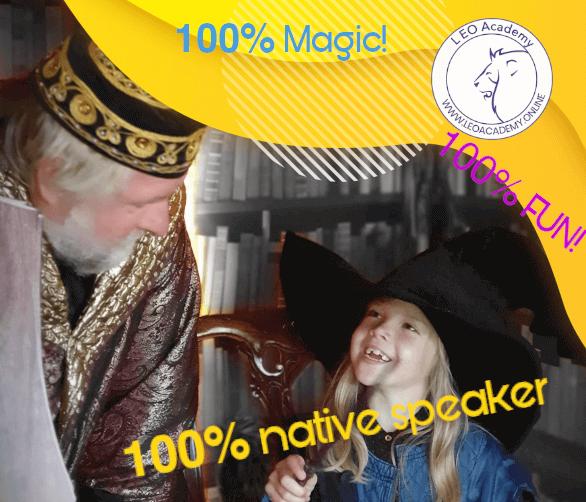 Akademia Czarodziejstwa - językowe warsztaty w magicznym klimacie!