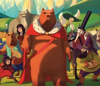 Filmowe spotkania dla dzieci –  Kino Agrafka. Słynny najazd niedźwiedzi na Sycylię