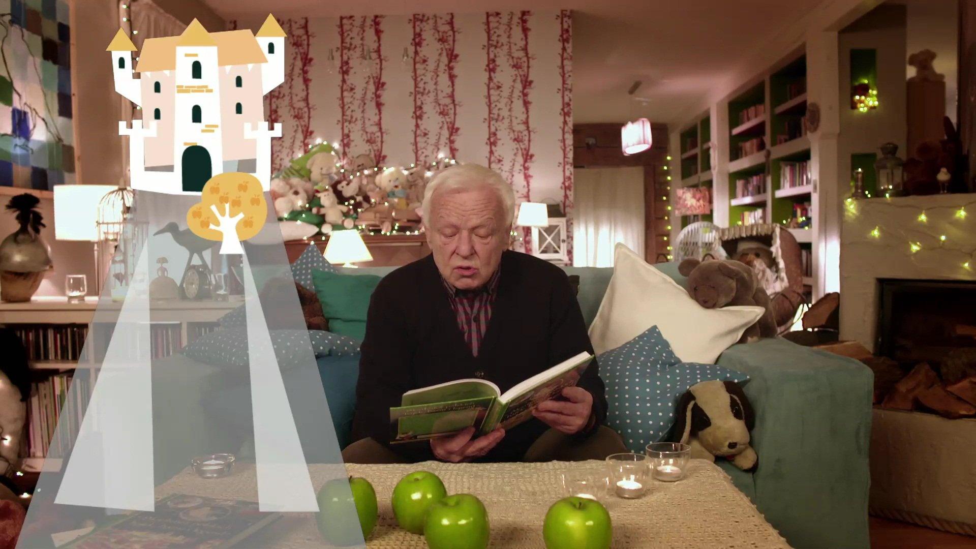 Posłuchaj bajki Szklana góra. Czyta Marian Opania, darmowe audiobooki dla dzieci na dobranoc