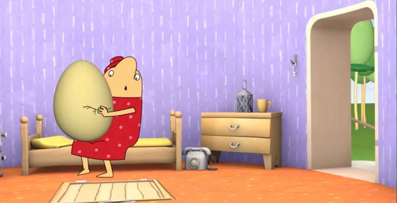 Bajka online dla dzieci do oglądania za darmo Pan Toti i jajo