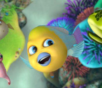 Mała Kika – filmowe spotkania dla dzieci. Waleczne rybki