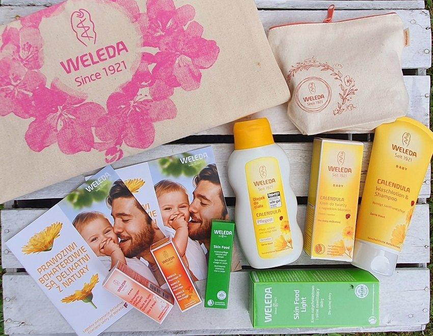 Konkurs dla dzieci i rodziców zestawy kosmetyków Weleda