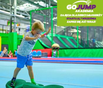 Zapisz dziecko na zajęcia sportowe w Akademii GOjump