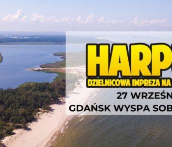 Harpuś – z mapą na Wyspę Sobieszewską!